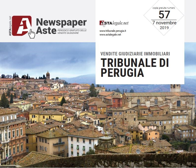 Newspaper Perugia 7 Novembre