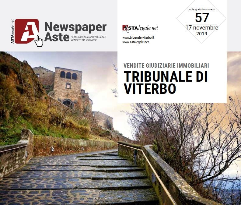 Newspaper Viterbo 17 Novembre