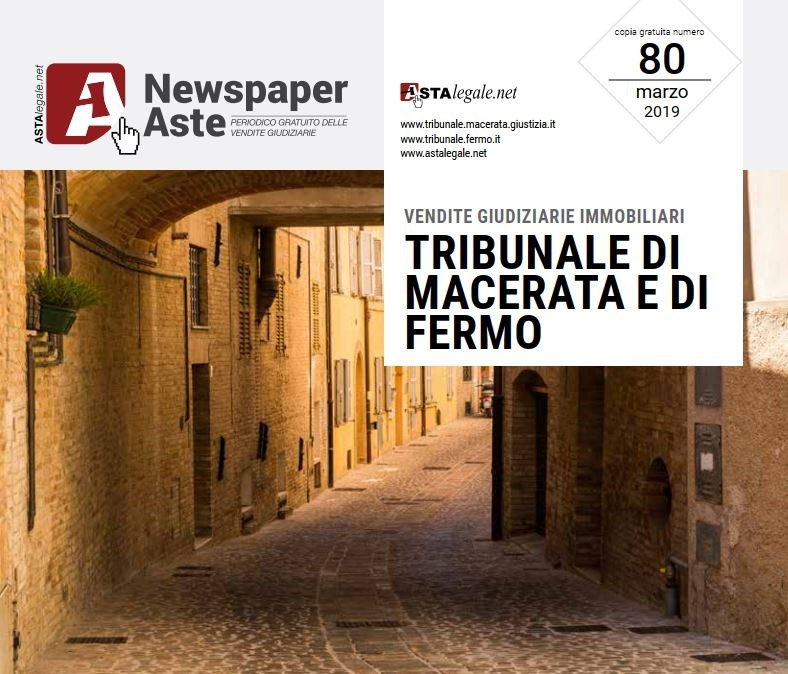 Newspaper Macerata Fermo Marzo