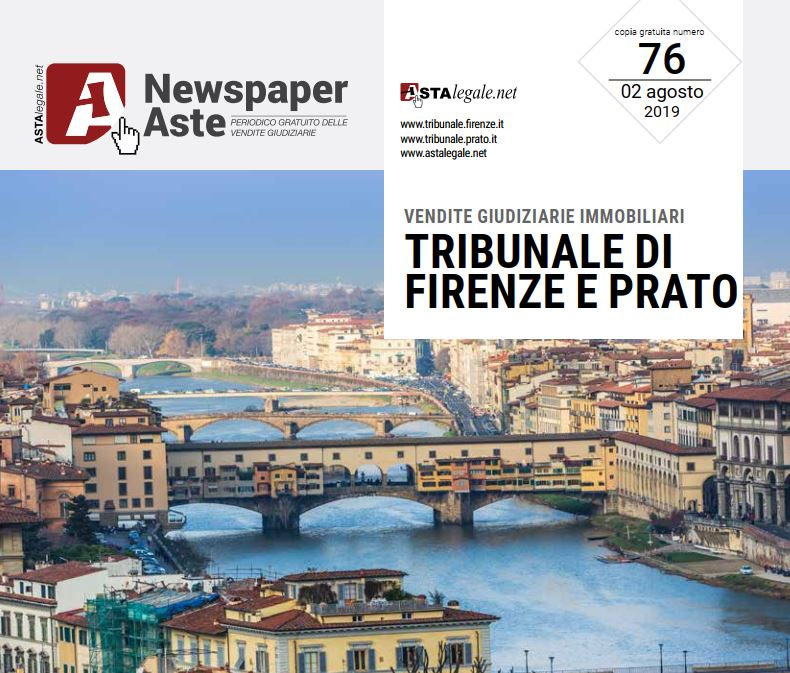 Newspaper Firenze Prato 2 Agosto