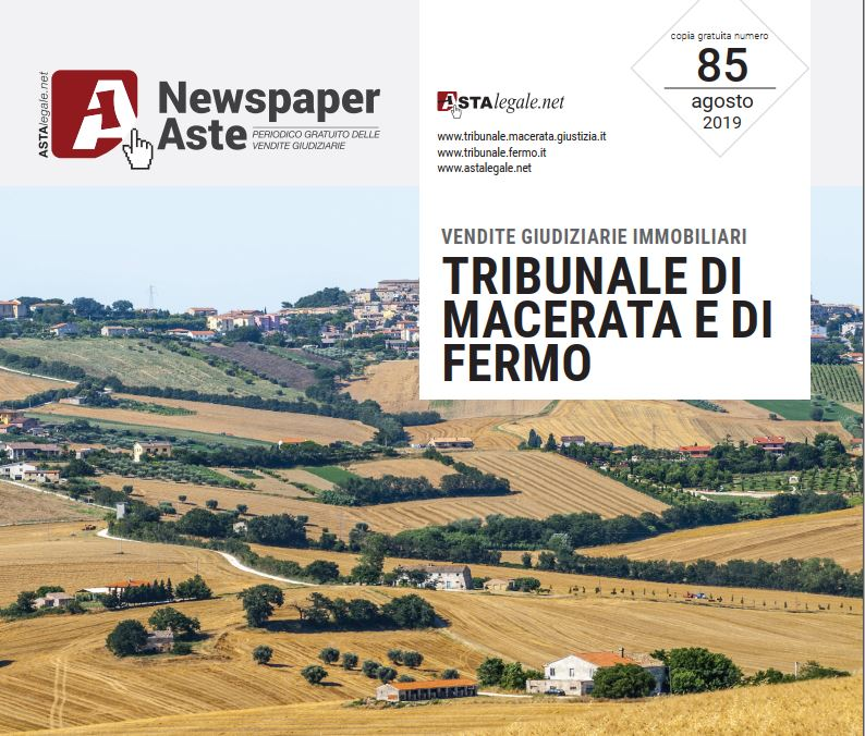 Newspaper Macerata Fermo Agosto