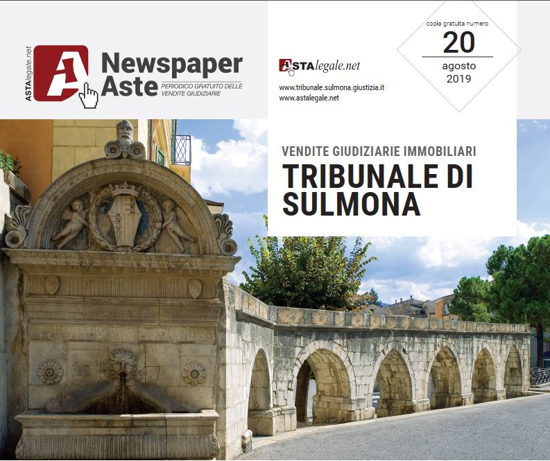 Newspaper Sulmona 9 Agosto