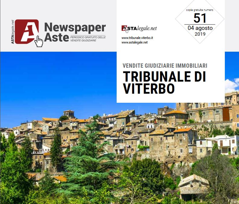 Newspaper Viterbo 4 Agosto