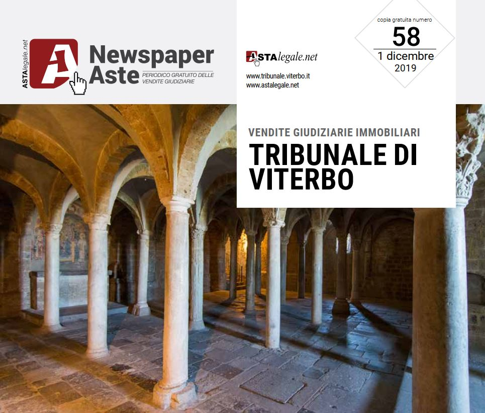 Newspaper Viterbo 1 Dicembre