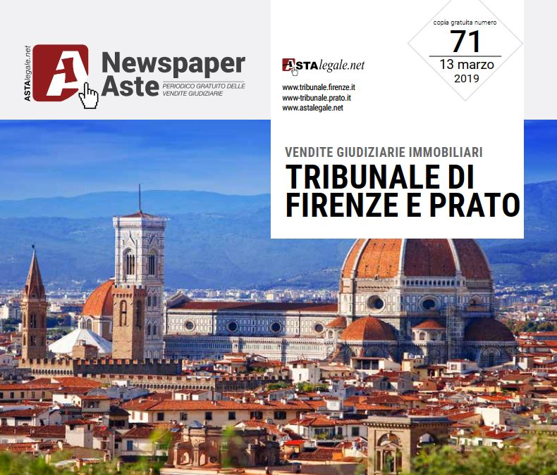 Newspaper Firenze Prato 13 Marzo