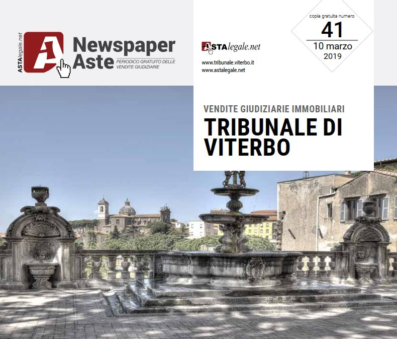 Newspaper Viterbo 10 Marzo