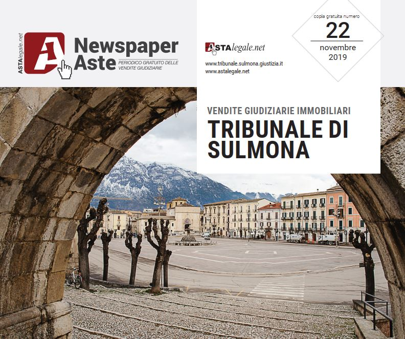 Newspaper Sulmona 7 Novembre