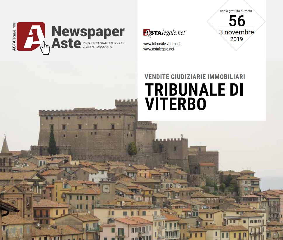 Newspaper Viterbo 3 Novembre