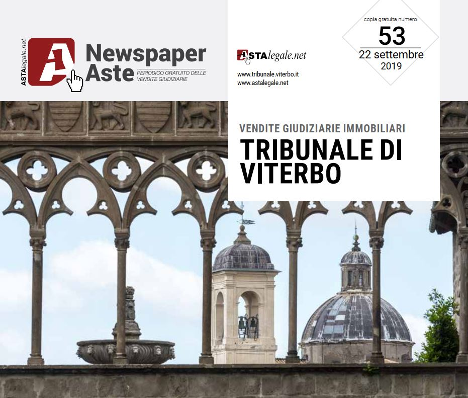 Newspaper Viterbo 22 Settembre