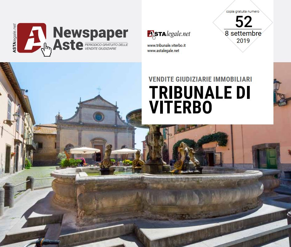 Newspaper Viterbo 8 Settembre
